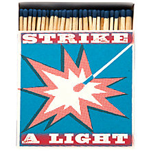 Buy Archivist Strike A Light Luxury Long Matches, Multi Online at johnlewis.com