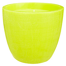 Buy House by John Lewis Bowl Candle, Zest Online at johnlewis.com