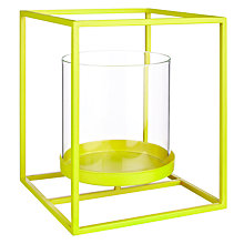 Buy House by John Lewis Tealight Holder, Zest Online at johnlewis.com