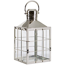 Buy Libra Salvador Square Bar Lantern, Medium Online at johnlewis.com