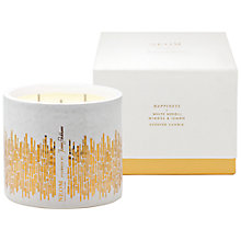 Buy Neom Jenny Packham Happiness 3 Wick Candle Online at johnlewis.com