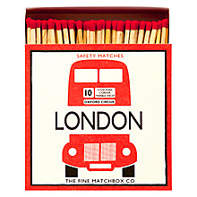 Buy Archivist London Luxury Long Matches, Red Online at johnlewis.com