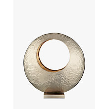 Buy John Lewis Hammered Round Tealight Holder Online at johnlewis.com