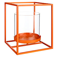Buy House by John Lewis Tealight Holder, Tangerine Online at johnlewis.com