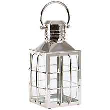 Buy Libra Salvador Square Bar Lantern, Small Online at johnlewis.com