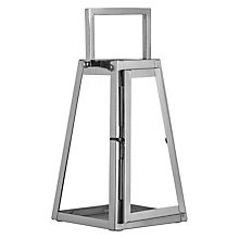Buy John Lewis Tall Angular Lantern, Small Online at johnlewis.com