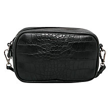 Buy Mango Double Compartment Bag, Black Online at johnlewis.com