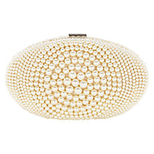 Buy Coast Paloma Pearl Clutch Bag, Pearl Online at johnlewis.com