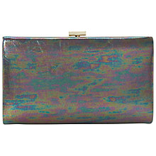 Buy Dune Beat Metallic Clutch Bag, Green Online at johnlewis.com