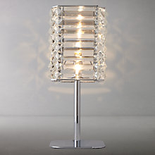Buy John Lewis Alfonso Square Crystal Touch Table Lamp Online at johnlewis.com