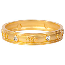 Buy Susan Caplan Vintage 1990s Elizabeth Taylor Bangle, Gold Online at johnlewis.com