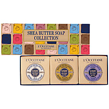 Buy L'Occitane Shea Butter Lavender Extra Gentle Soap, 100g Online at johnlewis.com