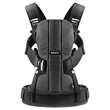 Buy BabyBjörn We Dot Baby Carrier, Black/White Online at johnlewis.com