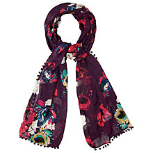 Buy Phase Eight Selby Scarf, Amethyst Online at johnlewis.com