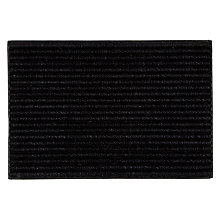 Buy John Lewis Coir Look Door Mat, Black Online at johnlewis.com