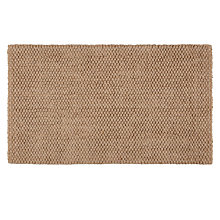 Buy John Lewis Croft Jute Loop Door Mat, 45 x 75cm, Natural Online at johnlewis.com