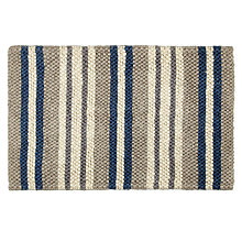 Buy John Lewis Jute Look Stripe Door Mat, 45 x 75 Online at johnlewis.com