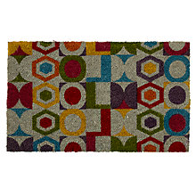 Buy John Lewis Elin Door Mat, 45 x 75cm, Multi Online at johnlewis.com