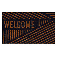 Buy House by John Lewis Welcome Doormat, 45 x 75cm Online at johnlewis.com