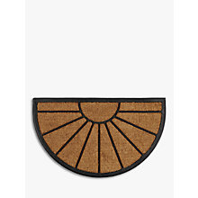 Buy John Lewis Sunburst Rubber and Coir Door Mat Online at johnlewis.com