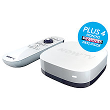 Buy NOW TV HD Smart TV Box, Movie Bundle with Four Month Subscription Online at johnlewis.com