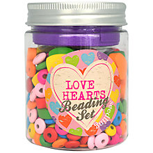 Buy Seedling Love Hearts Beading Set Online at johnlewis.com