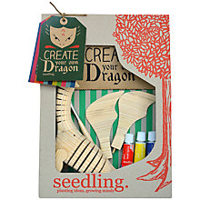 Buy Seedling Create Your Own Dragon Craft Kit Online at johnlewis.com