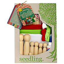 Buy Seedling My Christmas Nativity Scene Craft Kit Online at johnlewis.com