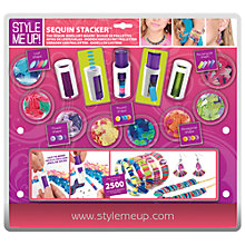 Buy Style Me Up! Sequin Stacker Jewellery Maker Online at johnlewis.com
