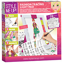 Buy Style Me Up Fashion Tracing Table Online at johnlewis.com