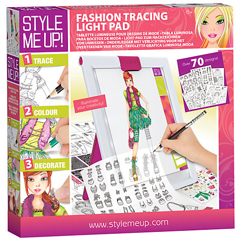 buy style me up fashion tracing table john lewis