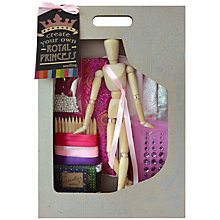 Buy Seedling Create Your Own Royal Princess Craft Kit Online at johnlewis.com