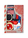Seedling Make Your Own Indie Bangles Craft Kit, Red