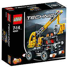 Buy LEGO Technic 42031 Cherry Picker Online at johnlewis.com