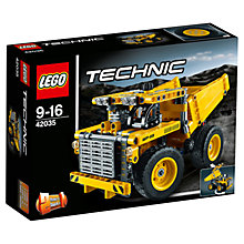 Buy LEGO Technic Mining Truck Online at johnlewis.com