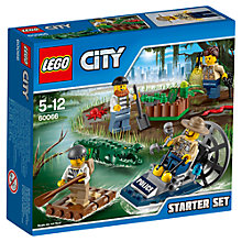 Buy LEGO City Swamp Police Set Online at johnlewis.com
