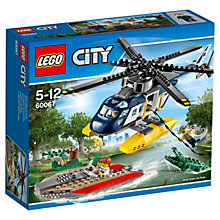 Buy LEGO City Helicopter Pursuit Bundle with Free Watch Online at johnlewis.com