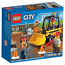 Buy LEGO City 60072 Demolition Starter Set Online at johnlewis.com