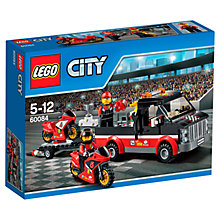Buy LEGO City Racing Bike Transporter Online at johnlewis.com
