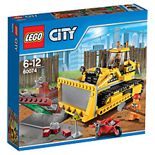 Buy LEGO City 60074 Bulldozer Online at johnlewis.com