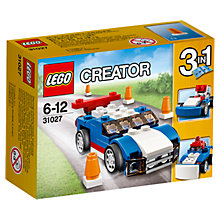 Buy LEGO Creator Blue Racer Online at johnlewis.com