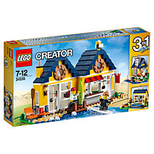 Buy LEGO Creator Beach Hut Online at johnlewis.com