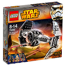 Buy LEGO Star Wars 75082 Rebels TIE Advanced Prototype Online at johnlewis.com
