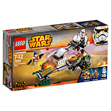 Buy LEGO Star Wars Rebels Ezra's Speeder Bike Online at johnlewis.com