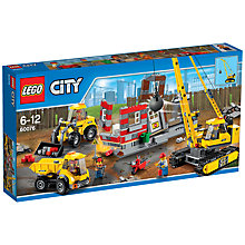 Buy LEGO City 60076 Demolition Site Online at johnlewis.com