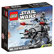 Buy LEGO Star Wars 75075 AT-AT Microfighter Online at johnlewis.com