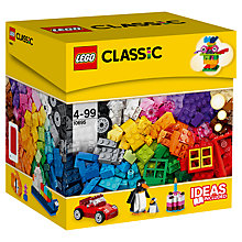 Buy LEGO Classic Creative Building Box Online at johnlewis.com