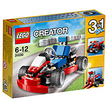 Buy LEGO Creator Red Go Kart Online at johnlewis.com