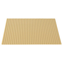 Buy LEGO Classic Baseplate, Sand Online at johnlewis.com