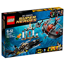 Buy LEGO Super Heroes Black Manta Deep Sea Strike Online at johnlewis.com